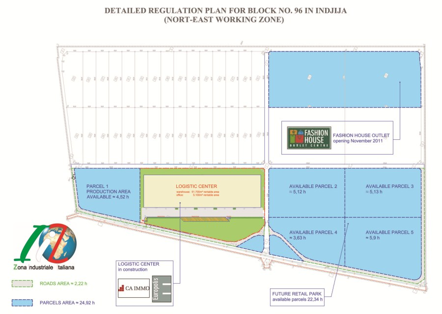 Invest In Serbia Business Park Italian Industrial Zone
